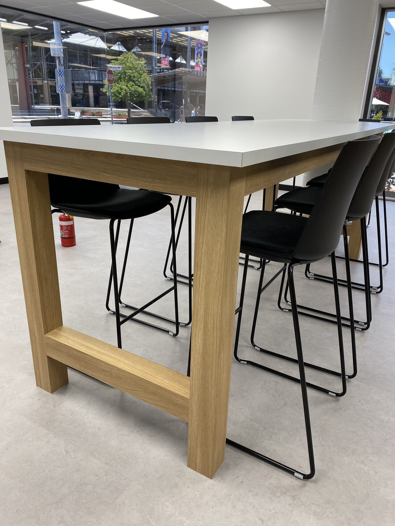 IMG_20191119_123039 working table with high chairs home office furniture darwin